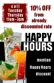 Happy Hours Special